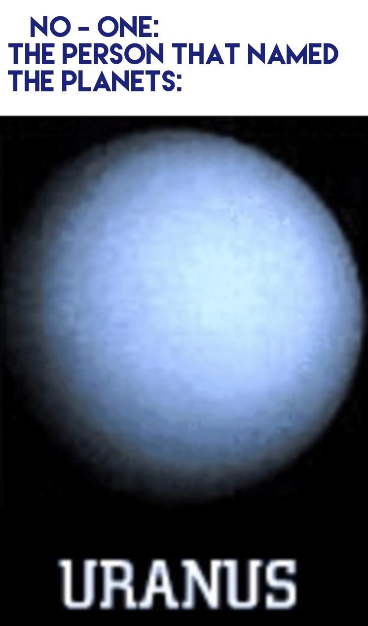 Uranus - meme