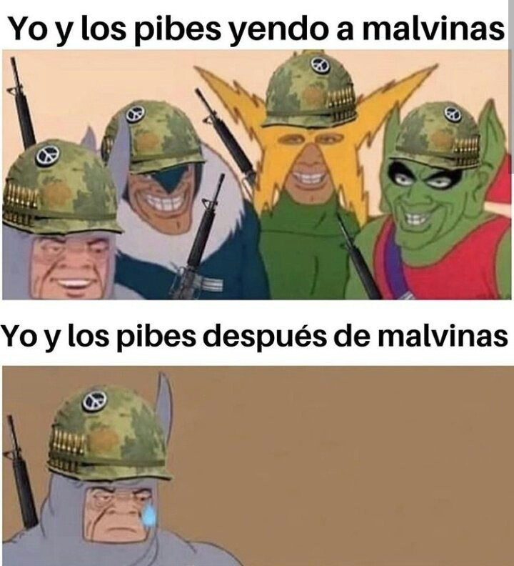 (Guerra argentina) - meme