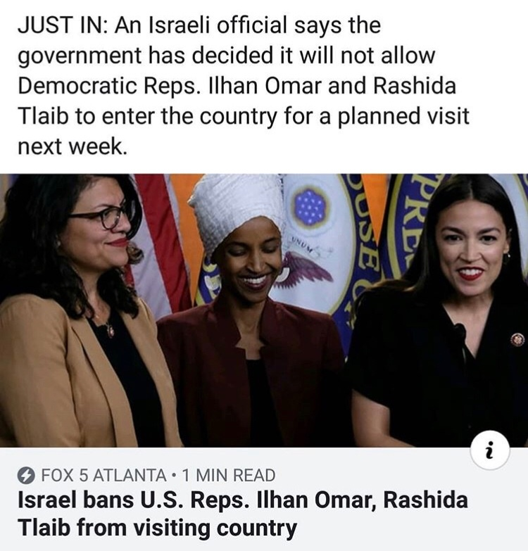 mmmmhm could it be because their religion? no that would be islamaphobic, and Israel is our greatest ally - meme