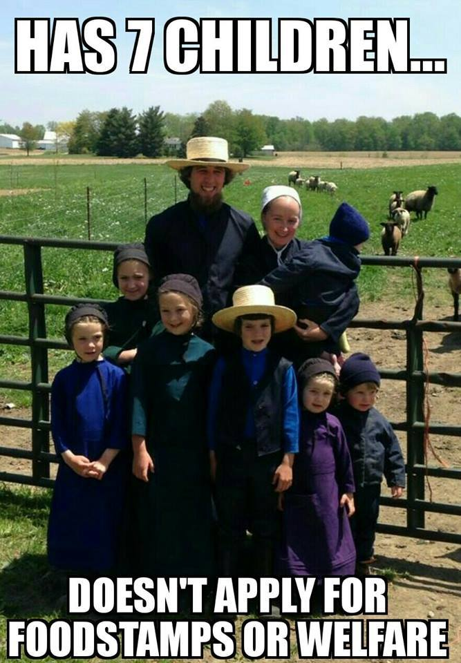 Amish people - meme