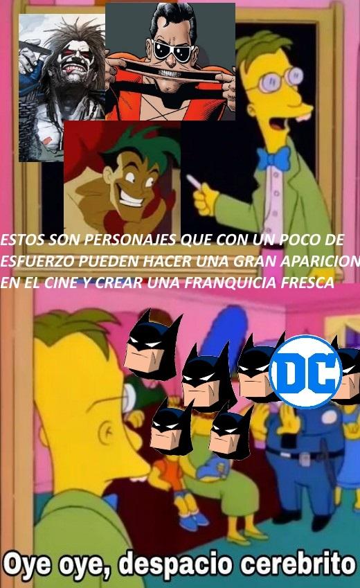 Batman batman batman... o se mueren - meme