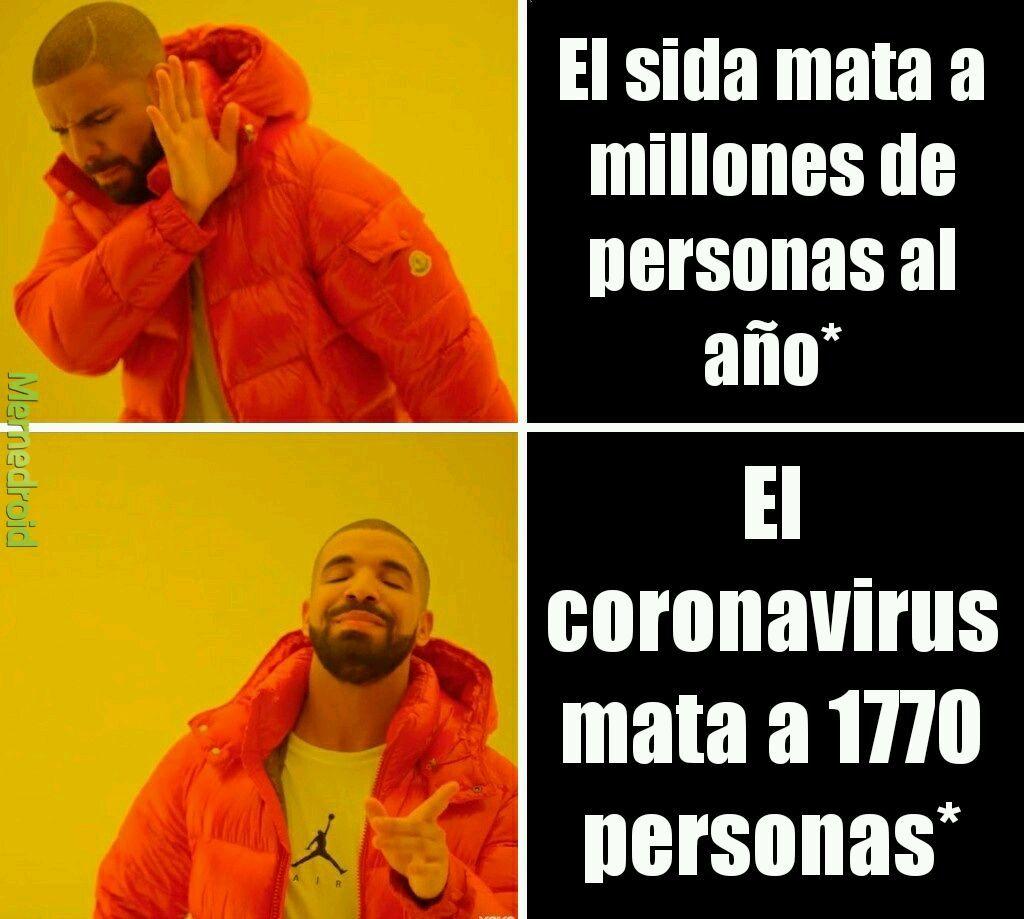 Coronavirus ft. Drake - meme