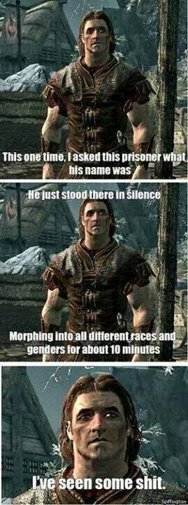 only skyrim player will know - meme