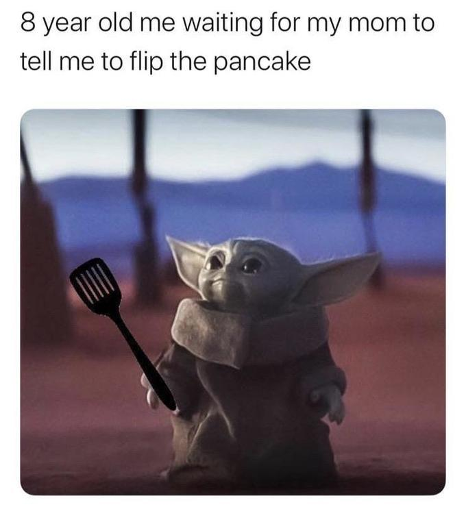 Helping mom make a meal is a special time - meme