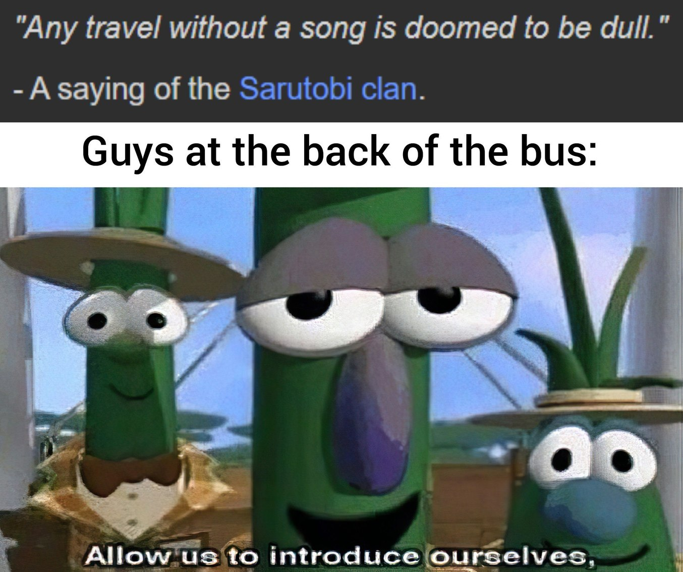 The best part of a trip is the music - meme