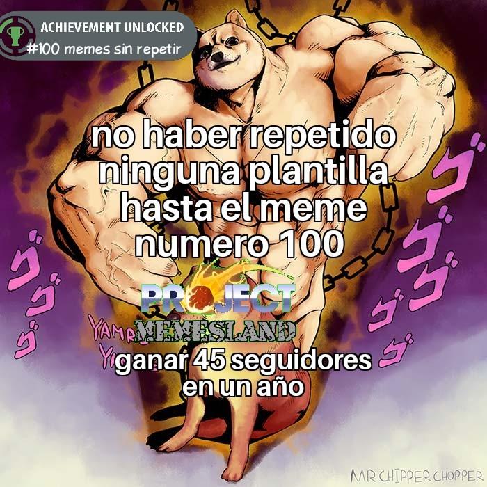 finaly meme numero 100