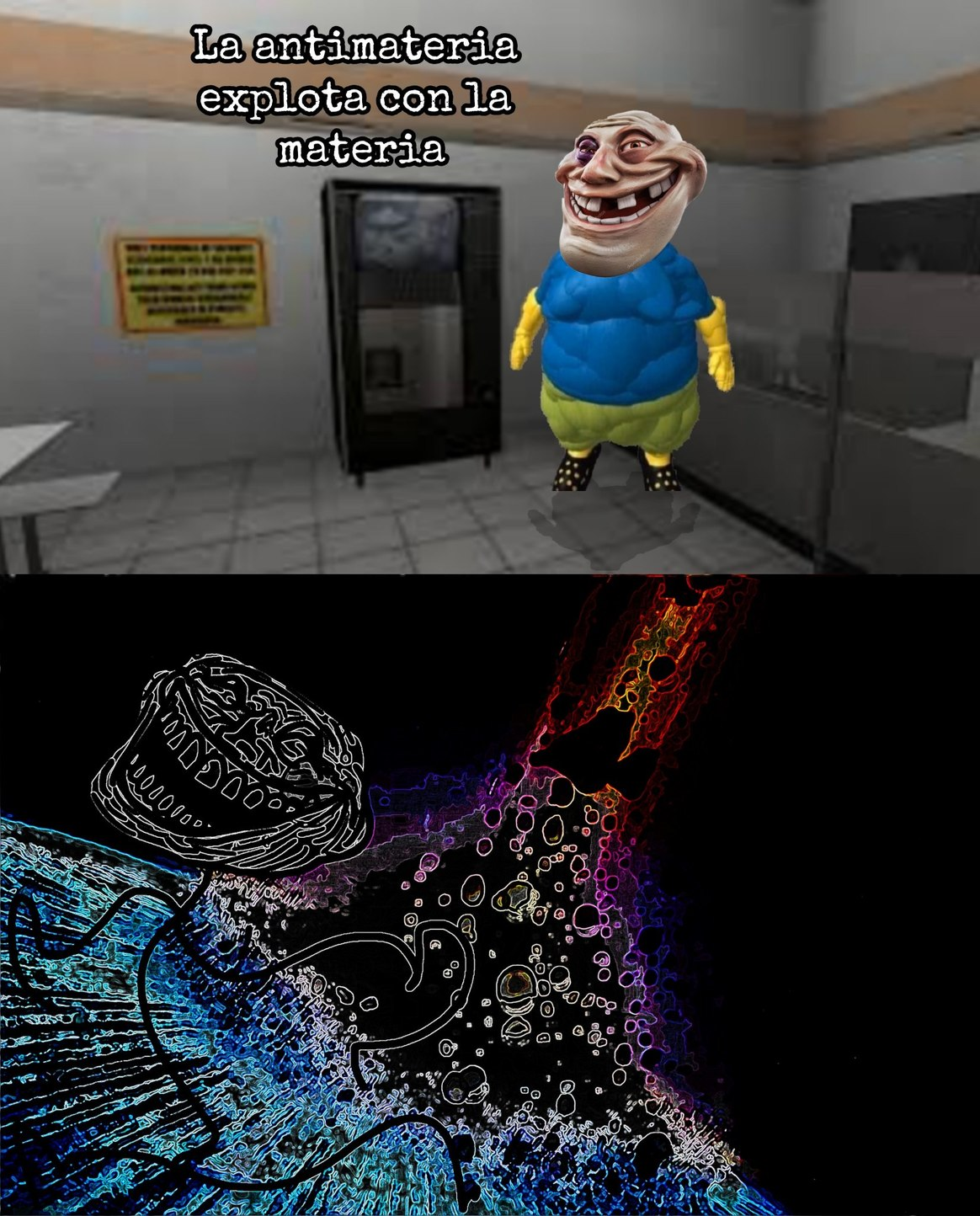 Trollge is coming - meme