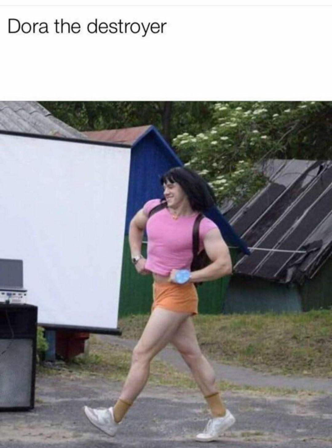 Dora the explorer - meme