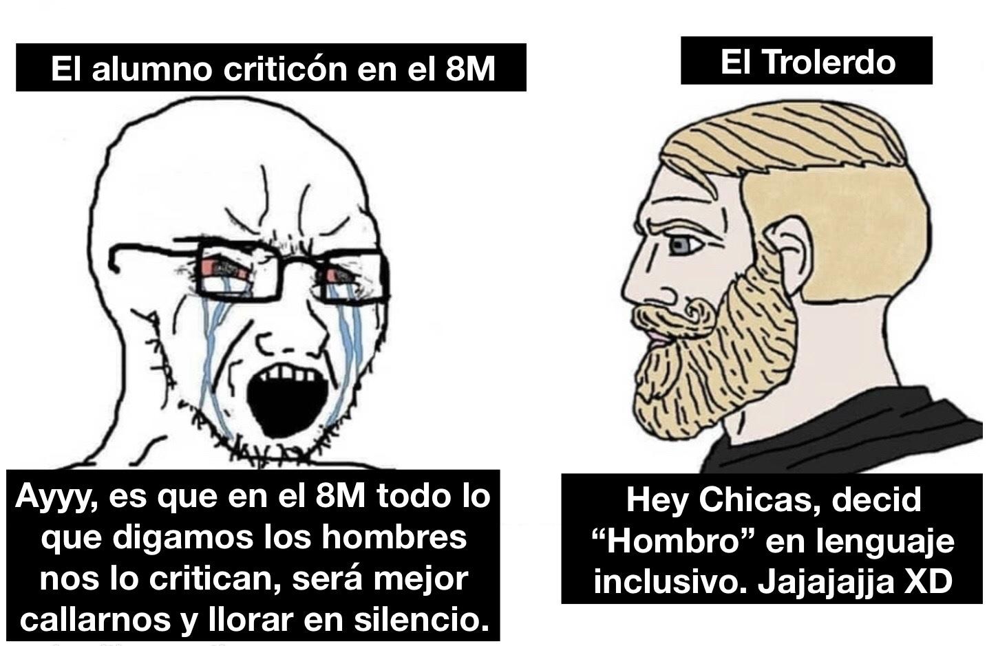 El regreso del Trolerdo - meme