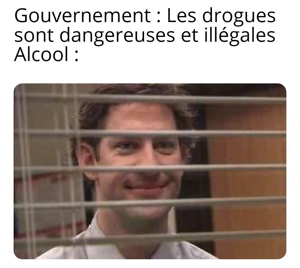 Bof l'alcool n'a jamais tué personne... - meme
