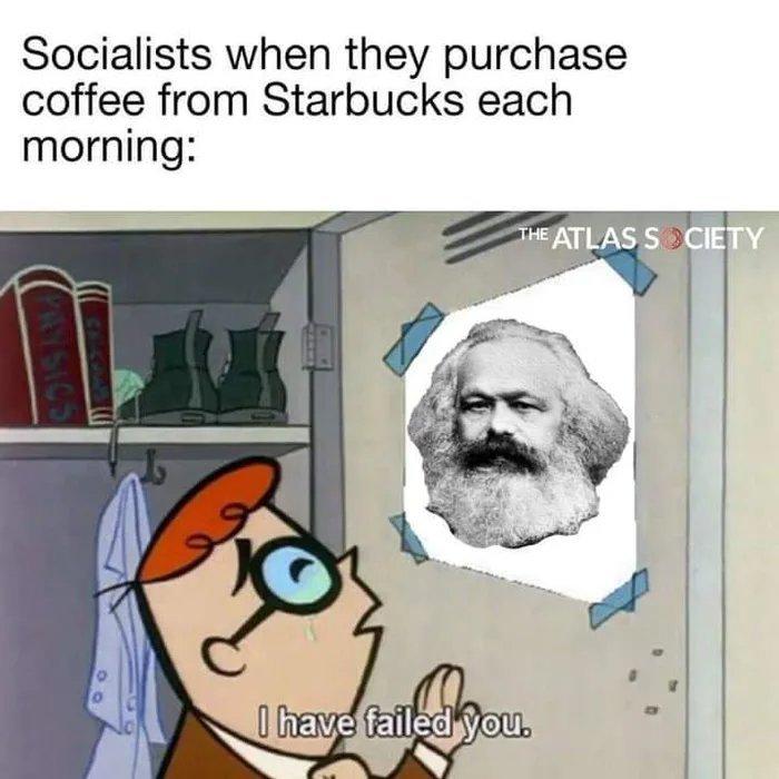 Leftists be like - meme