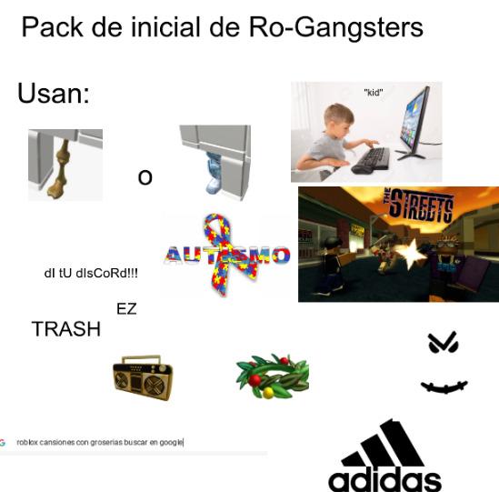 Rogangsters - meme