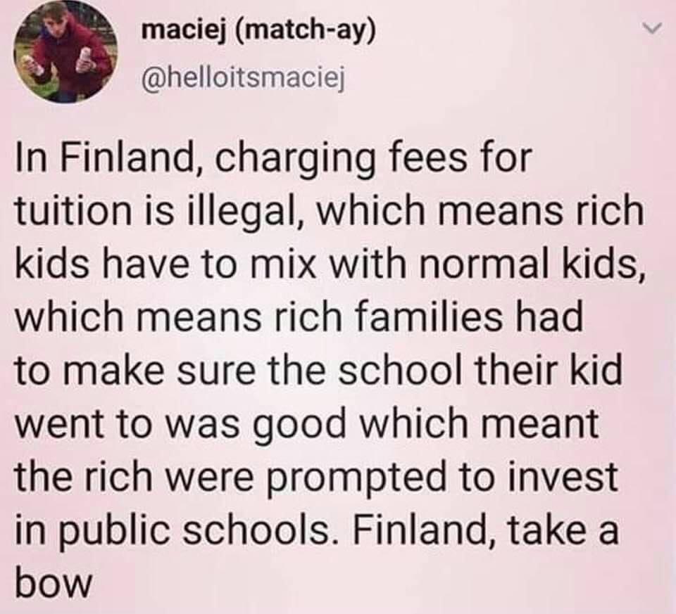 abolish private schools - meme