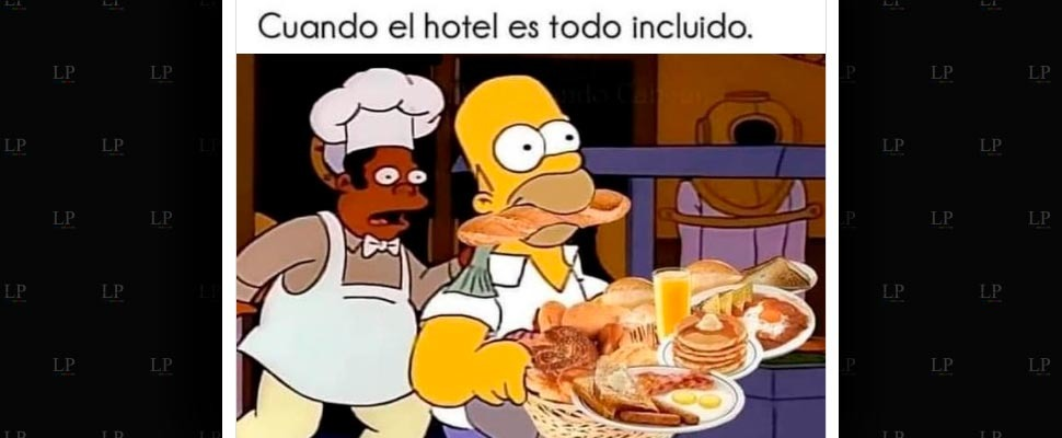 Homero es muy genio. - meme