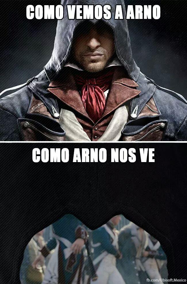 Assasin's Creed Unity :0 - meme