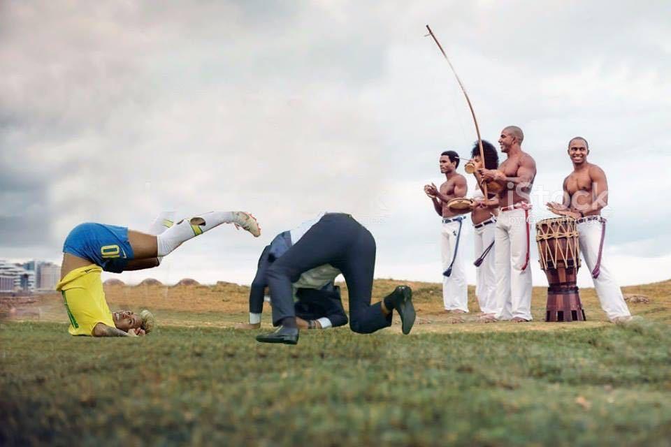 Copa do mundo de capoeira - meme