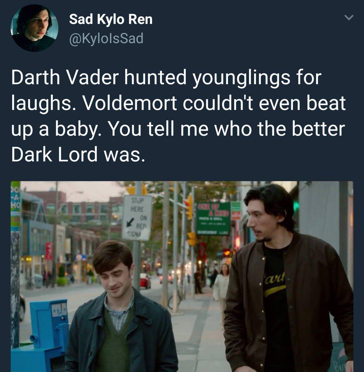#DarthVader or #Voldemort - meme