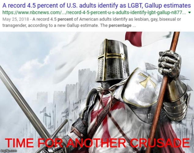 We need another crusade - meme