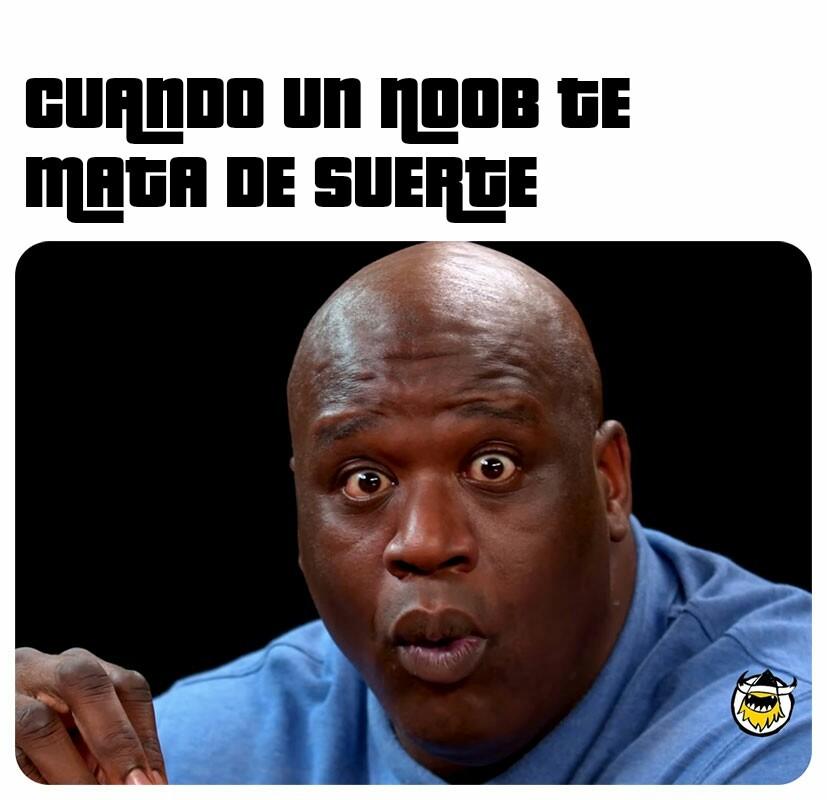 HAY SUERTE EN EL MUNDO NONOON - meme