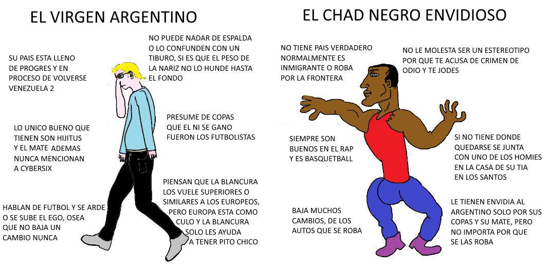 Mas esterotipos - meme