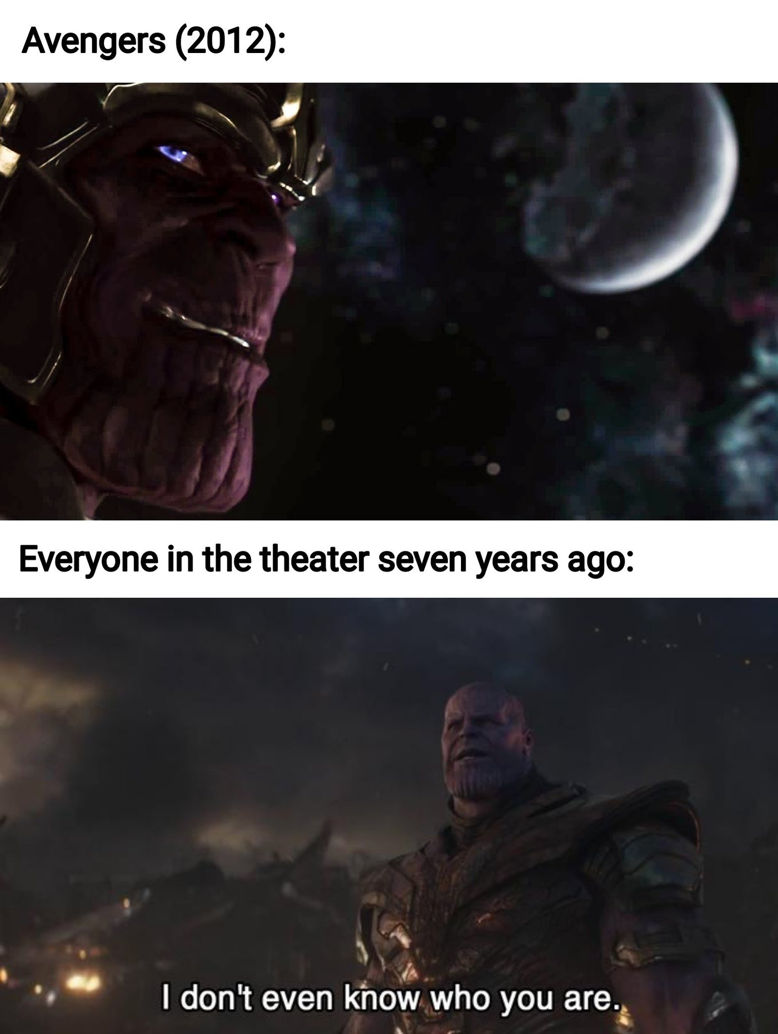 The best Thanos memes :) Memedroid