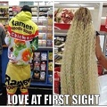 Love at first sight...