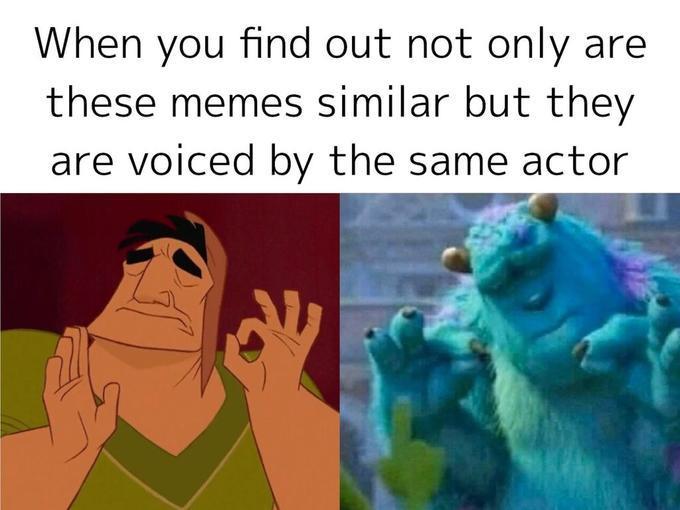 Just right - meme
