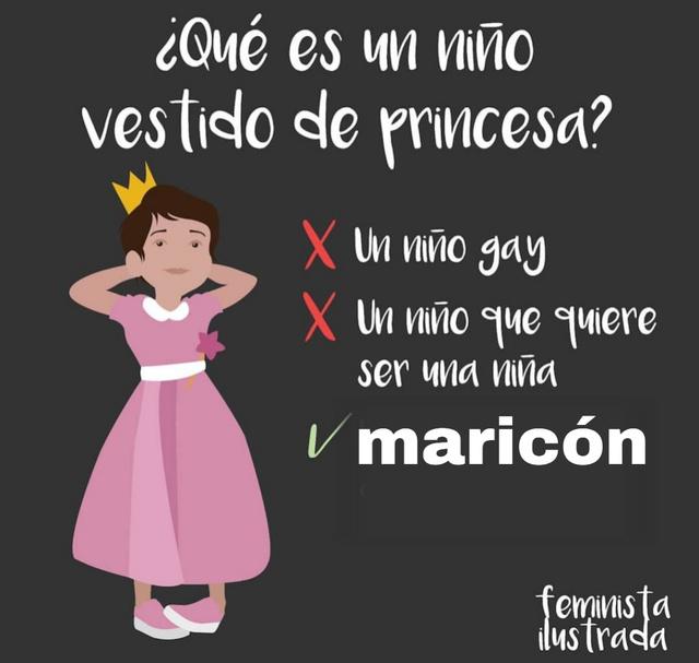 Maricón XD - meme