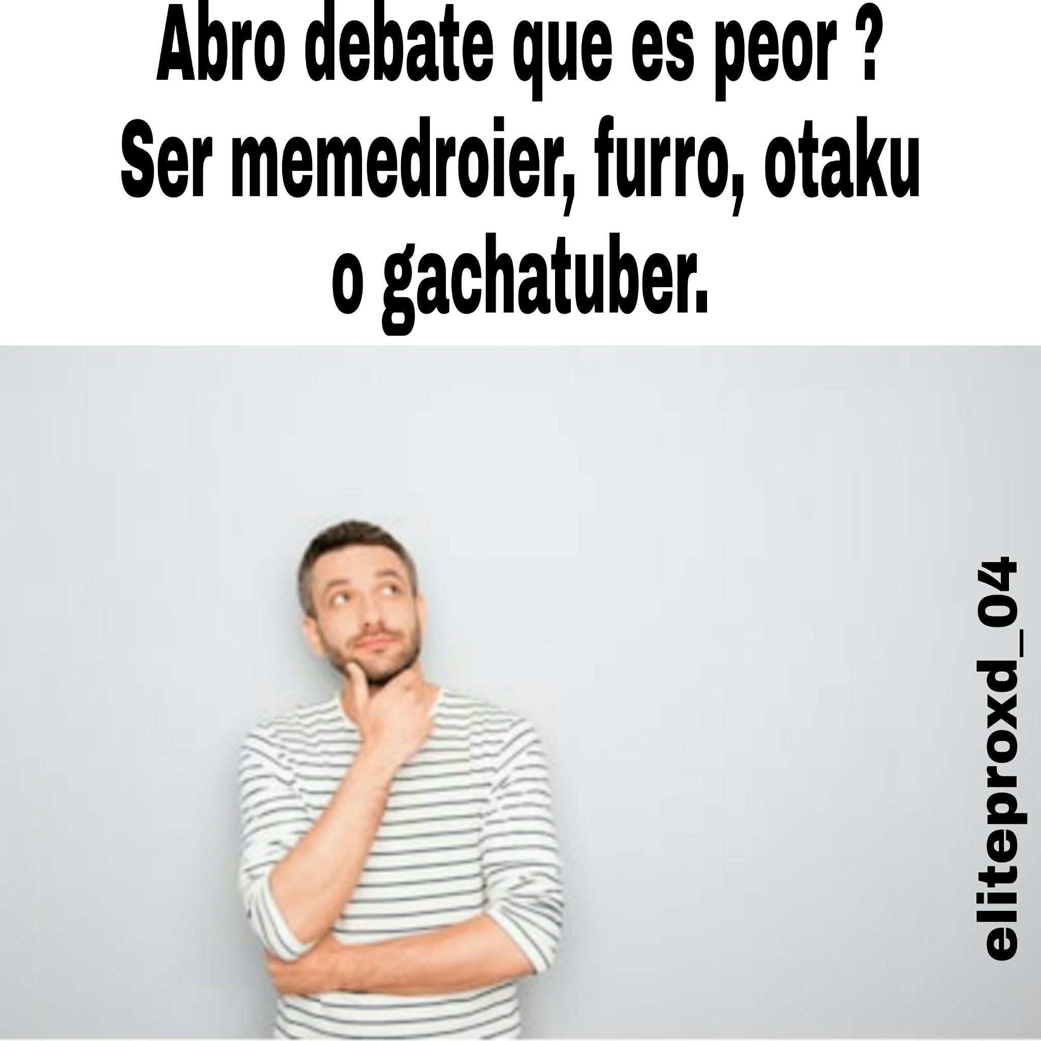 Otro debate y también digan el porque - meme