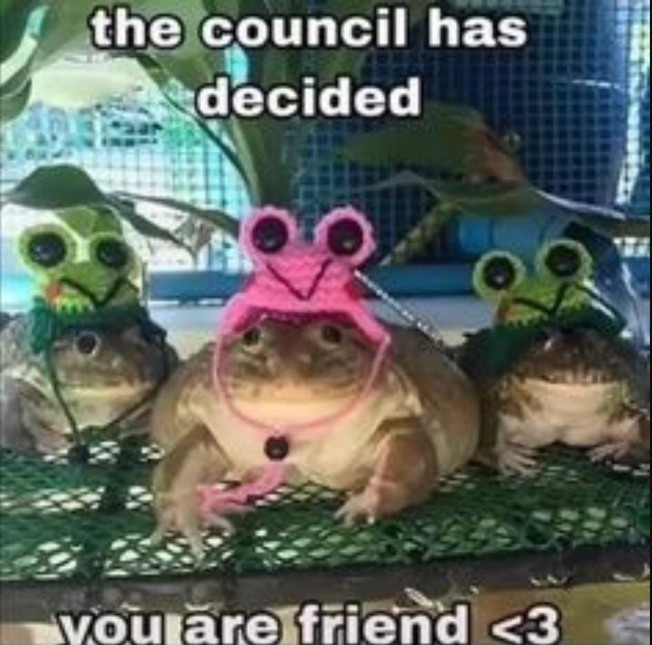 ILY friend<3 - meme
