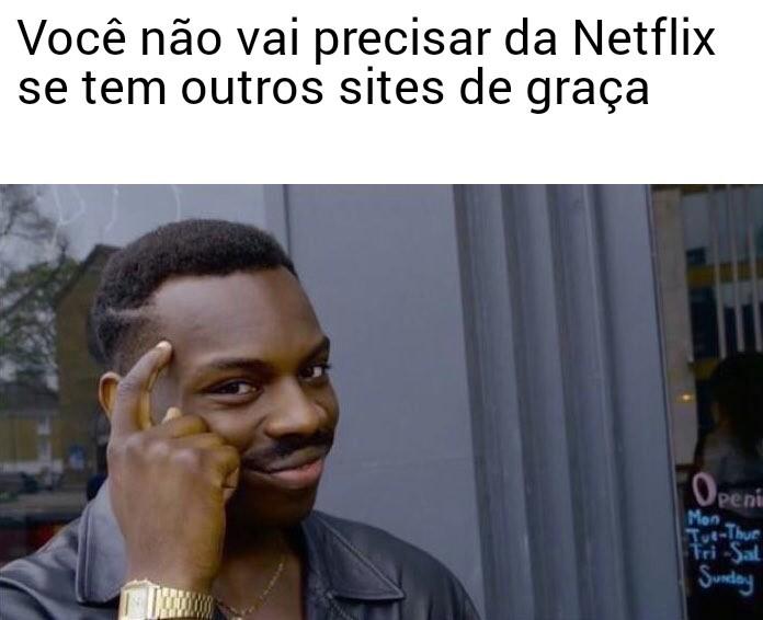 Netflix Isolada - meme