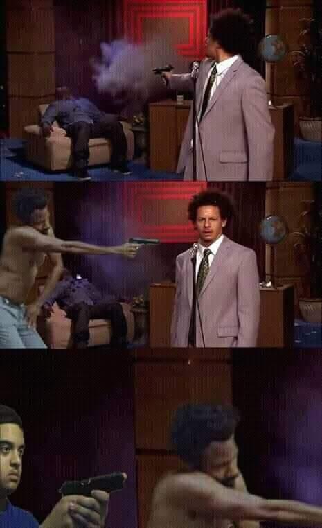 uno tras otro - meme