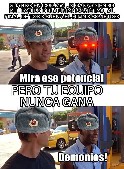 *suena himno soviético* - meme