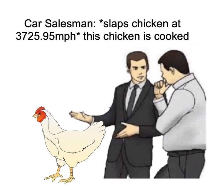 beating that meat - meme