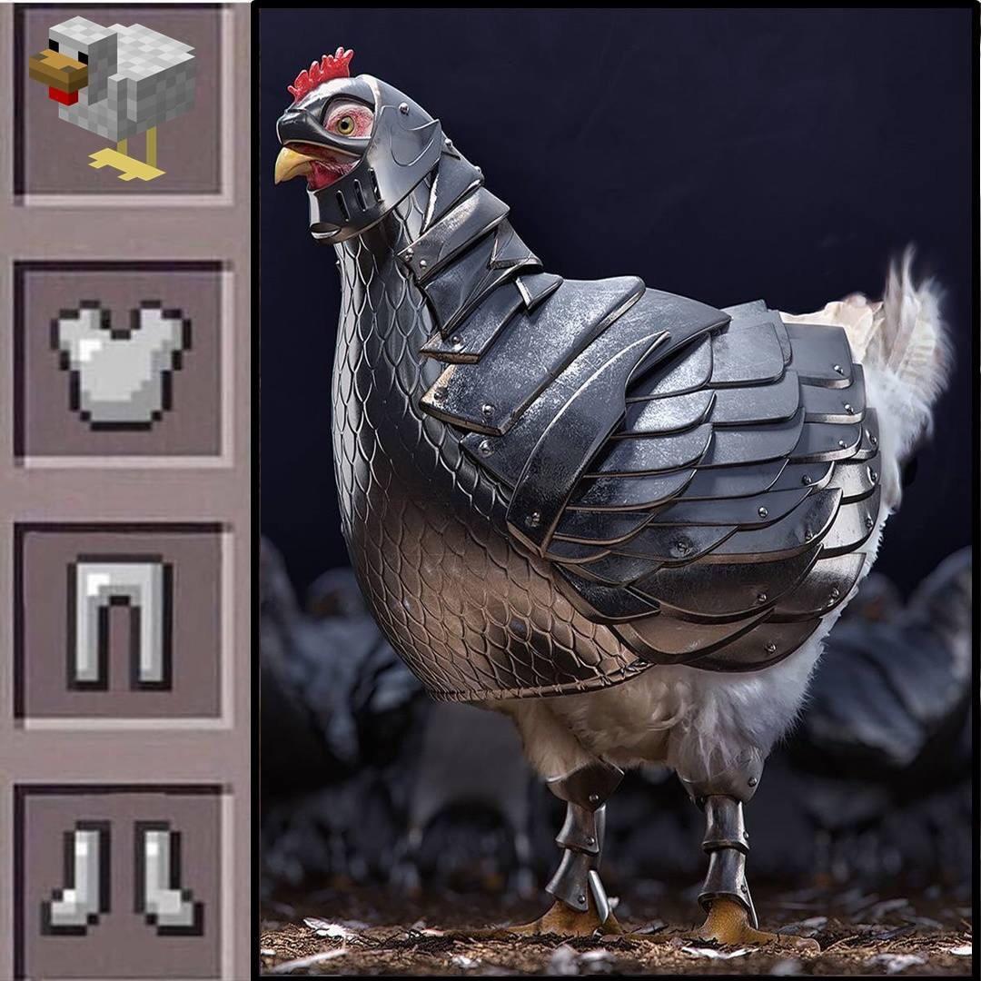 Sou a favor da igualdade nas rinhas de galo*galinha - meme