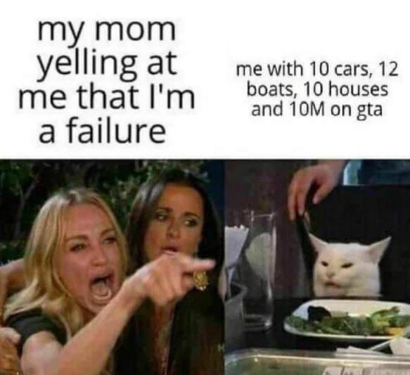 welp mom issues at its best for me :l - meme