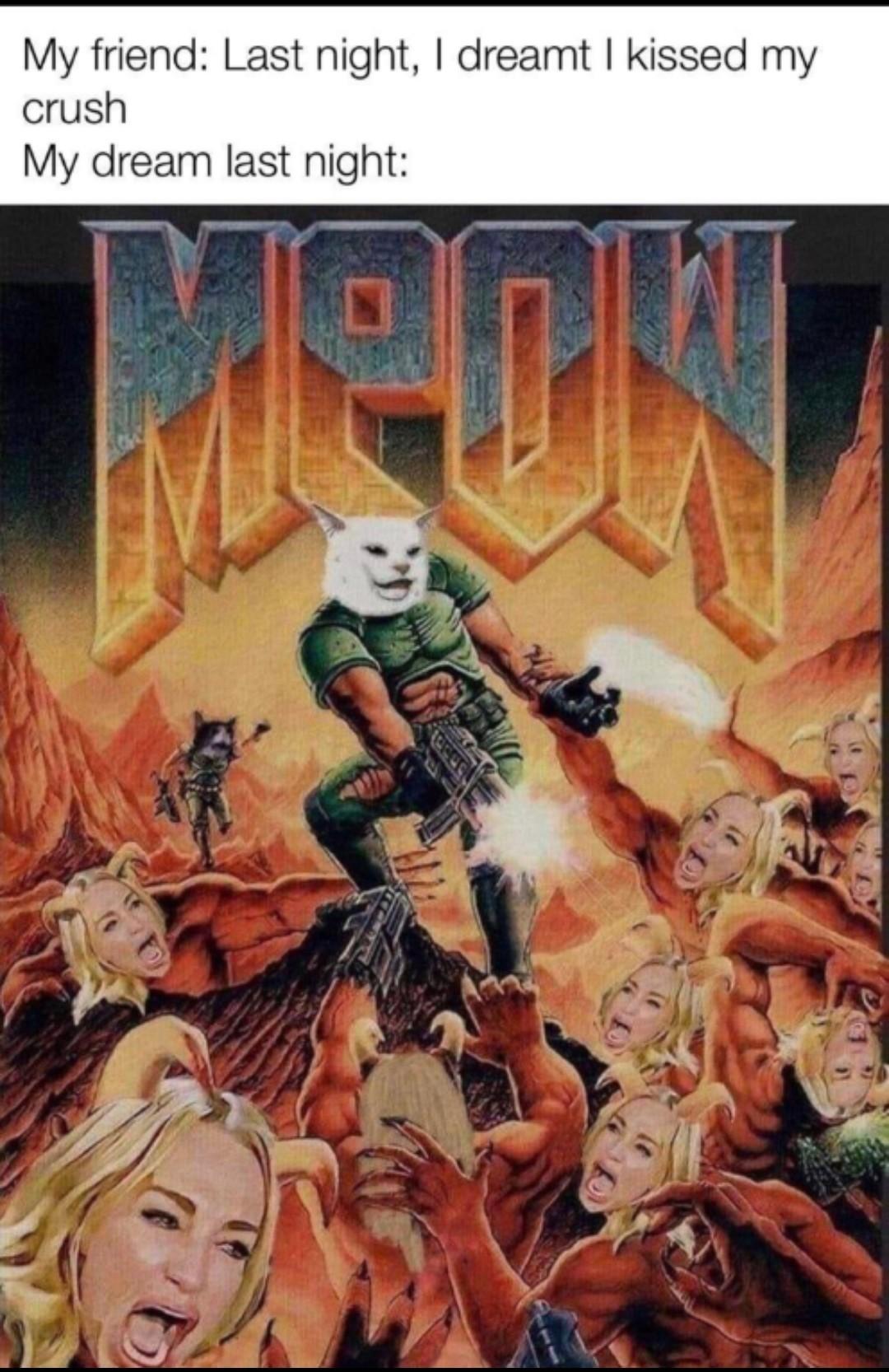 Doom looks great - meme