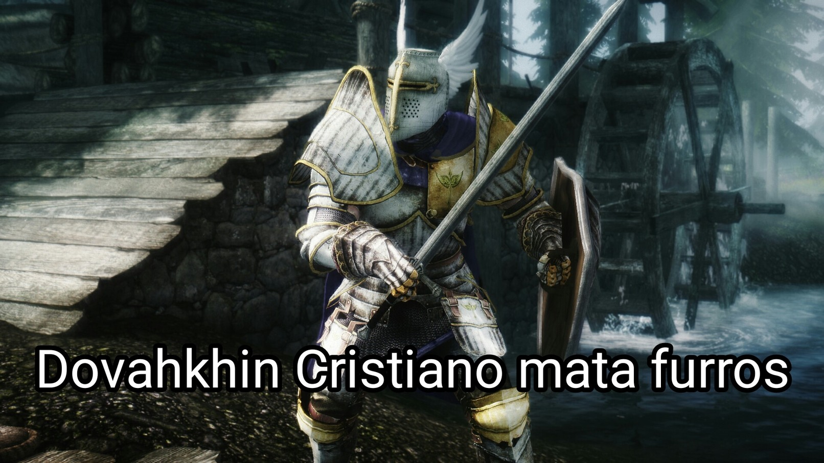 El crossover más épico de Abril - meme