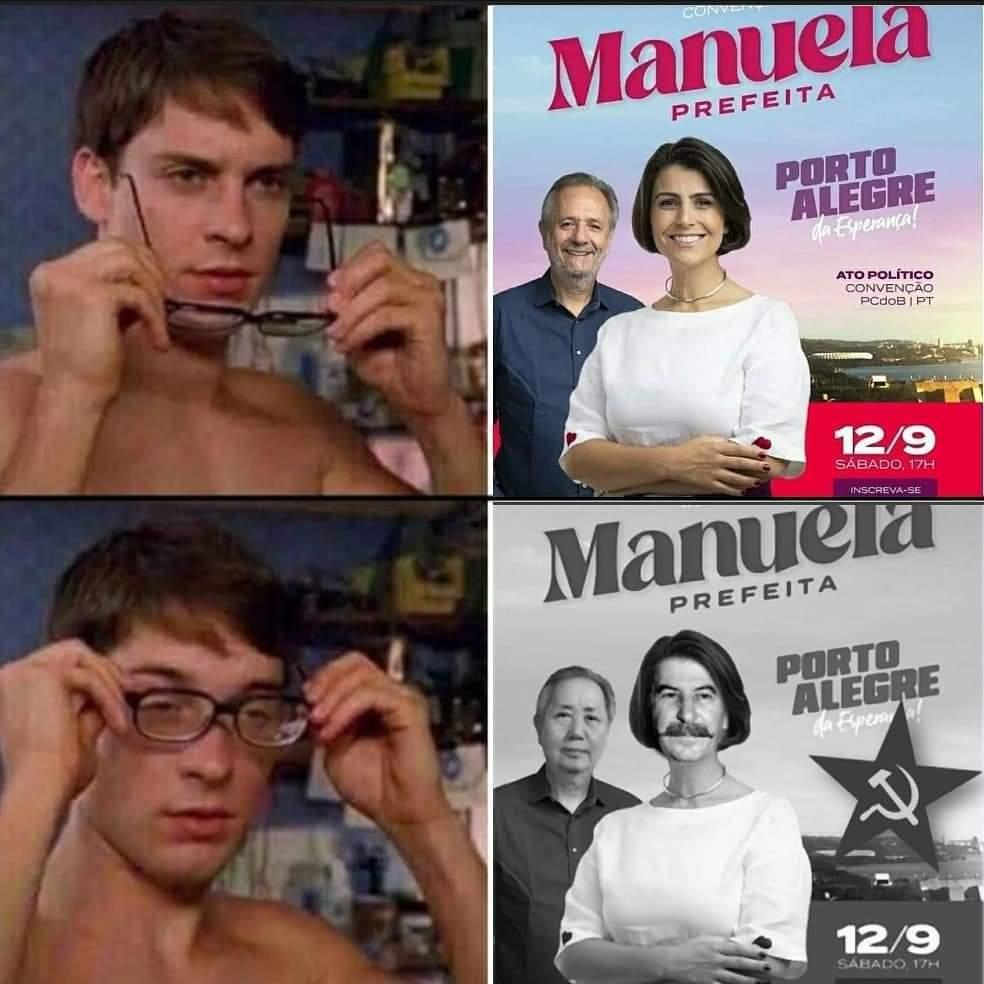 Stalinda a Manú - meme