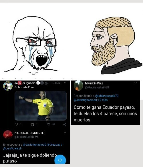 Vendrán uruguayos a funarme (?) - meme