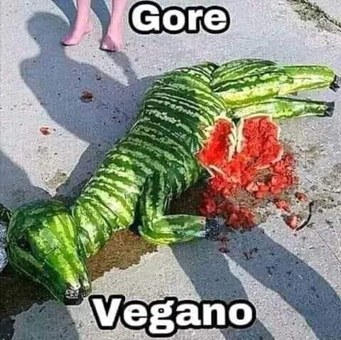 Gore vegano, salvaje. - meme
