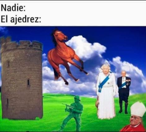 Torre mamada, Juan volador, Reina Isabel pd: no se si es repost si lo es no lo acepten - meme