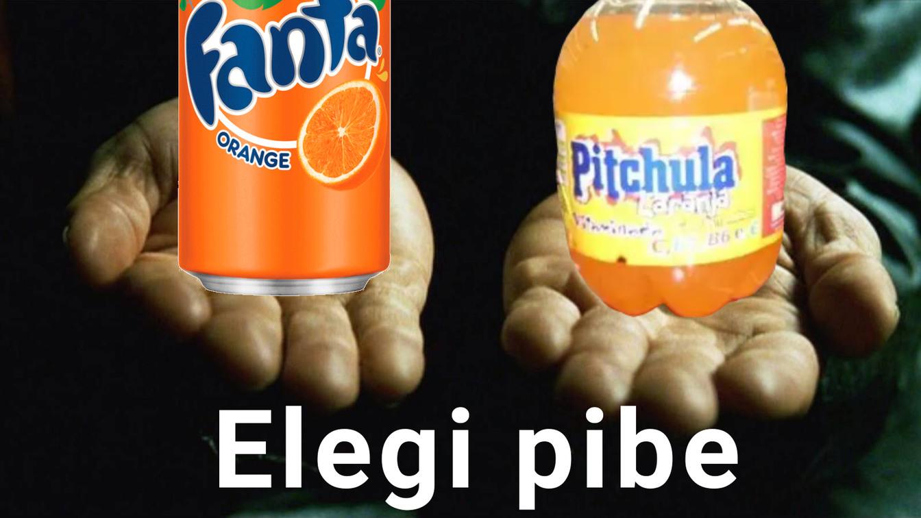 La fanta o la Pitchula - meme