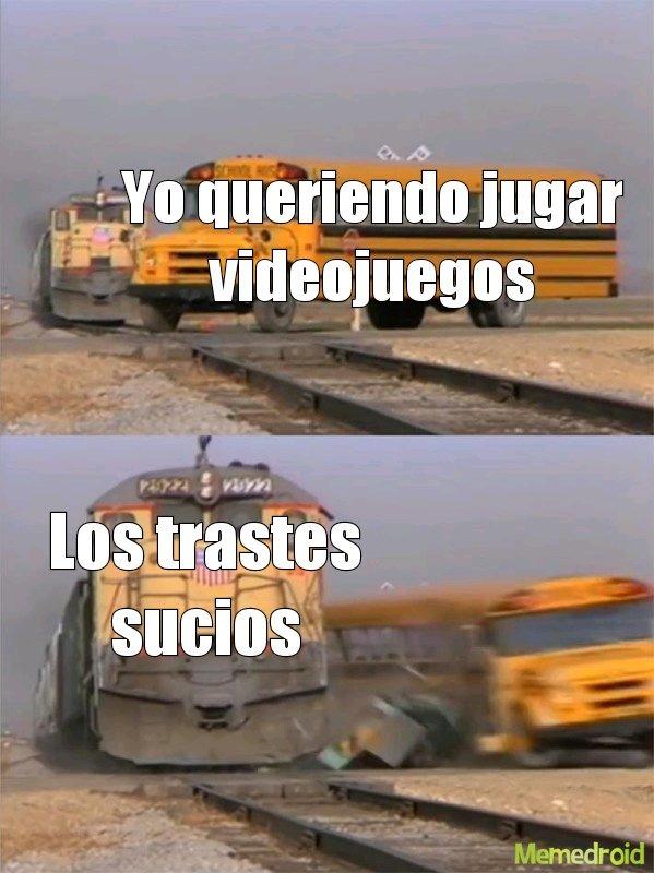 Mi vida resumida - meme