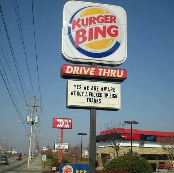 So Hungry For Kurger Bing...