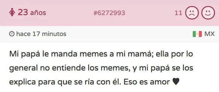 "el amor existe :"") - meme"