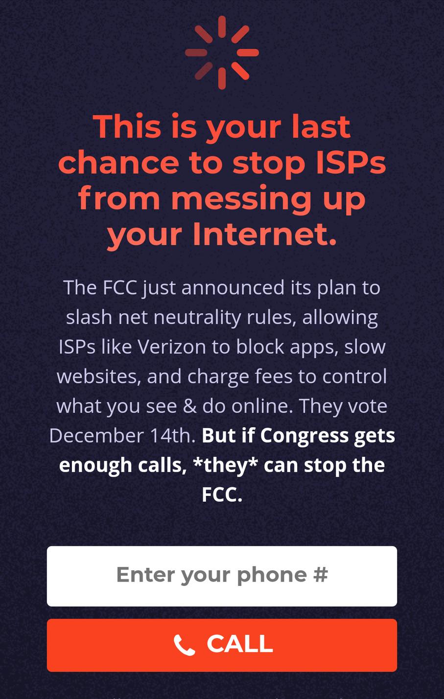 Not a meme, but Americans, please visit battleforthenet.com. Please don't overlook the importance of net neutrality!
