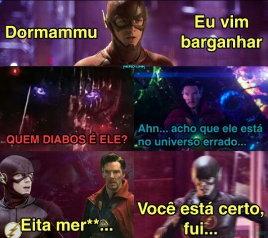 Poura Barry Allen - meme