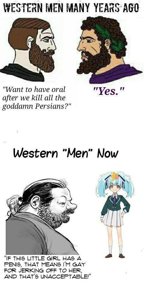 Gay fag - meme