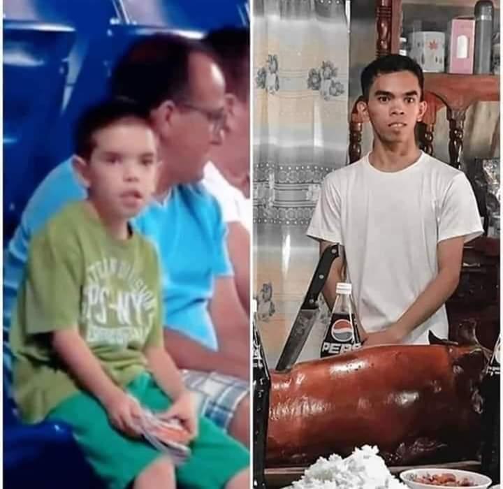 Ele cresceu - meme
